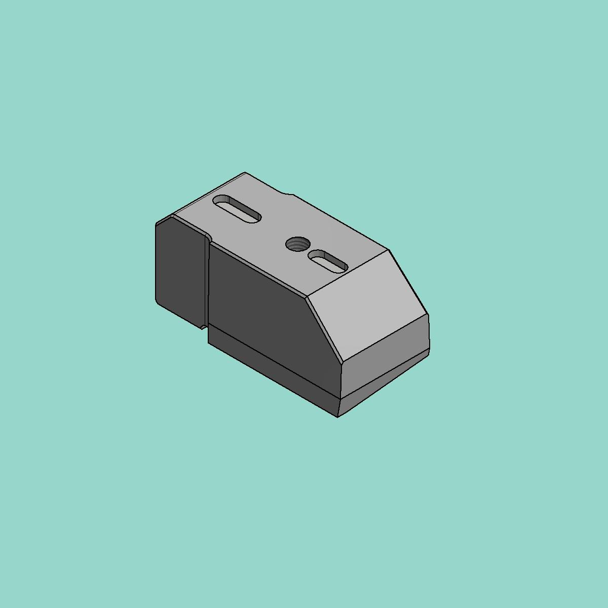 Vierkant-Ausklinkstempel