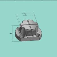 Stempelhalter für SV 90 (A=50 mm / B=93 mm)