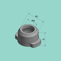 Schnellspanneinsatz (B=34,5 / C=52 mm)
