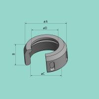 Stempelmutter für SV (D = 39,7 mm)