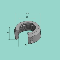 Stempelmutter für SV (D = 58,7 mm)