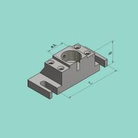 Matrizenhalter (A=50,8 mm / B=130 mm)