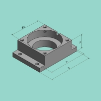 Matrizenhalter SV 90 (H=119,8 mm)