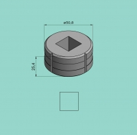 Vierkantmatrize Nr. 5